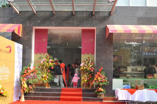 Khai trương cửa hàng đầu tiên của ORFARM tại Hà Nội