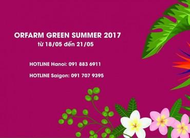 ORFARM GREEN SUMMER 2017