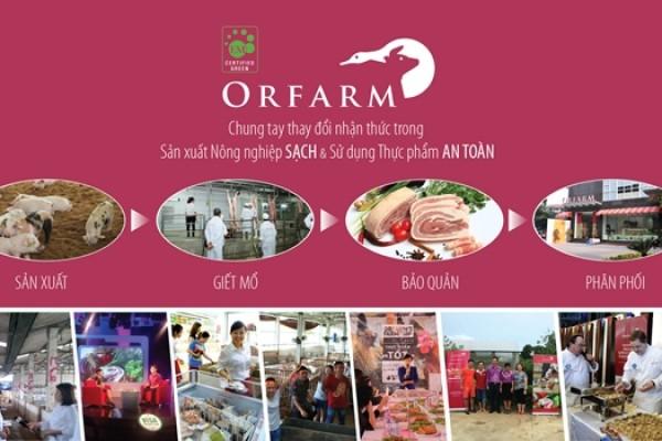 Showroom thực phẩm hữu cơ thứ 5 của thương hiệu ORFARM chính thức khai trương tại tầng 1, tòa nhà Syrena Tower, 51 Xuân Diệu, quận Tây Hồ, Hà Nội.