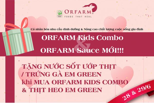 Tưng bừng Quà tặng ORFARM ngày Gia đình Việt Nam
