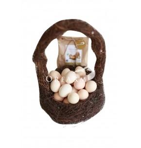 Trứng gà hữu cơ EM Green