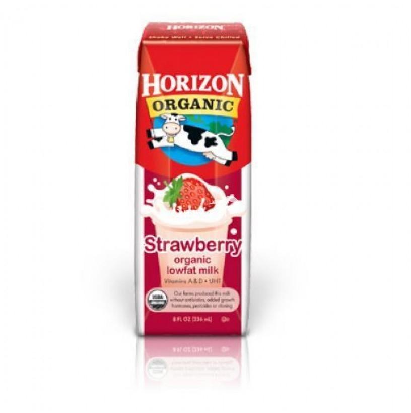 Sữa hữu cơ Horizon vị dâu 236ml