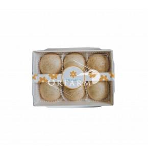 Bánh bao nguyên cám hữu cơ vị Mộc
