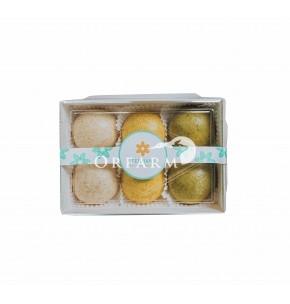 Bánh bao nguyên cám hữu cơ vị Mix